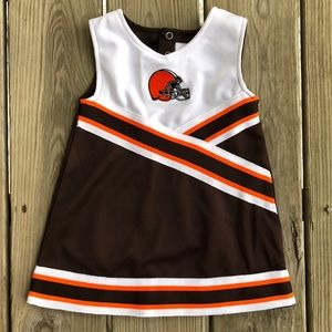 Cleveland Browns Infant Cheerleader Dress
